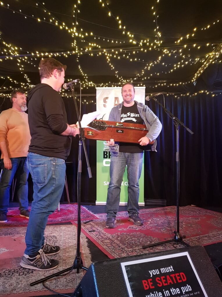 John van der Zalm wins best brewer in the 2020 SABSOSA competition.
